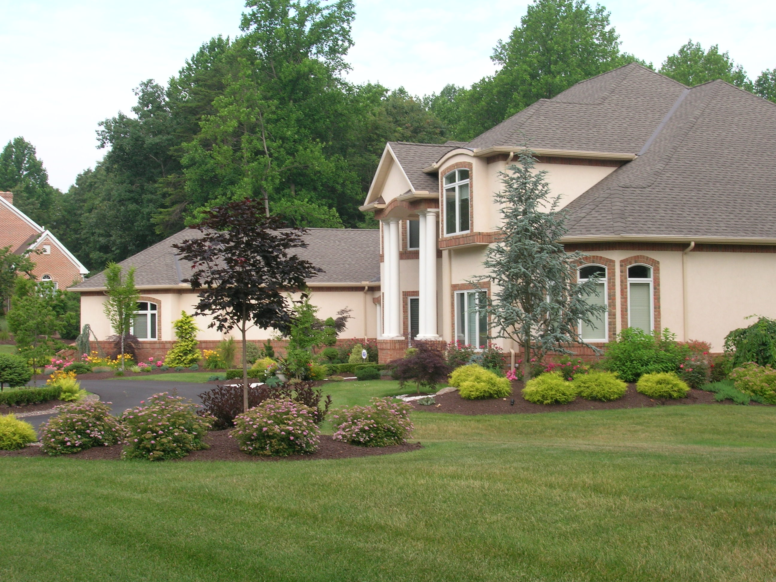 Lavish landscaping for House garden landscape